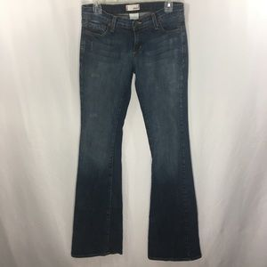 """Piper Jeans Flare Distressed Stretch Size 7 x 36"""""""